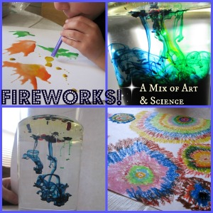 PicMonkey fireworks Collage with text