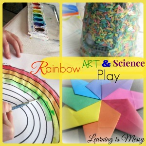 PicMonkey rainbow art and science playCollage