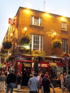 we walked The Temple Bar area of Dublin, Ireland